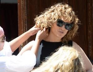 Jennifer Lopez na planie serialu!