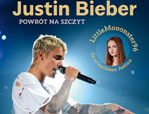 Littlemooonster96 - książka Justin Bieber Powrót na szczyt hitem?