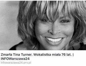 Tina Turner nie żyje? Skąd ta chora plotka?